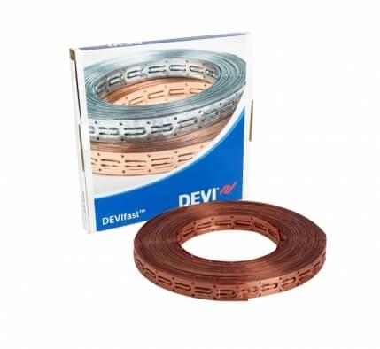 19808238 | Медная монтажная лента DEVlfast для крепления кабеля, 25 м.