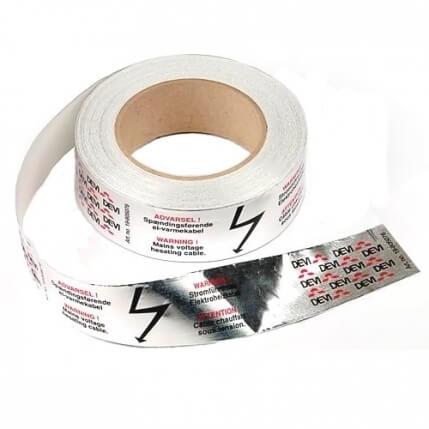 19805076 | Лента алюминиевая (скотч) Alu tape 50 м.